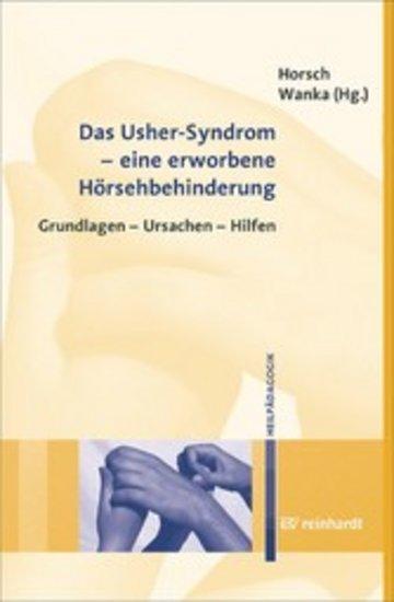 eBook Das Usher-Syndrom - eine erworbene Hörsehbehinderung Cover
