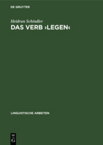 eBook Das Verb ?legen? Cover