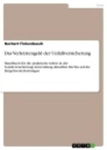 eBook Das Verletztengeld der Unfallversicherung Cover