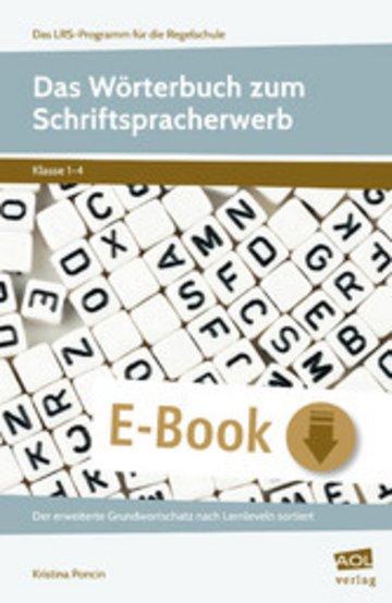 eBook Das Wörterbuch zum Schriftspracherwerb Cover