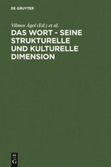 eBook Das Wort - Seine strukturelle und kulturelle Dimension Cover