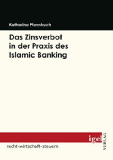 eBook Das Zinsverbot in der Praxis des Islamic Banking Cover