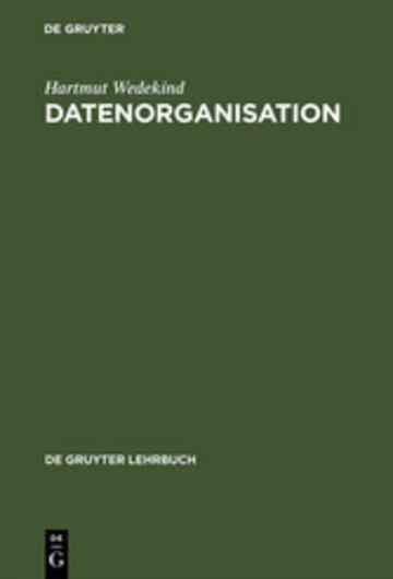 eBook Datenorganisation Cover