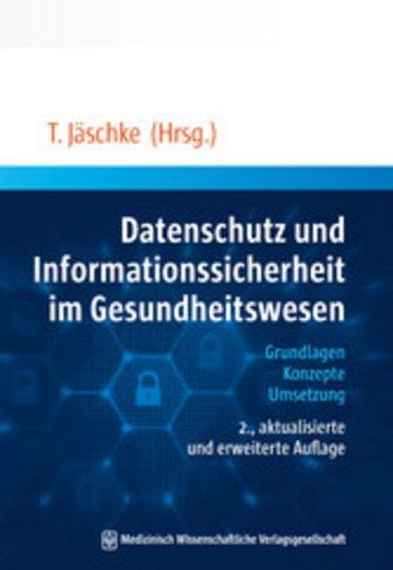 eBook Datenschutz und Informationssicherheit im Gesundheitswesen Cover