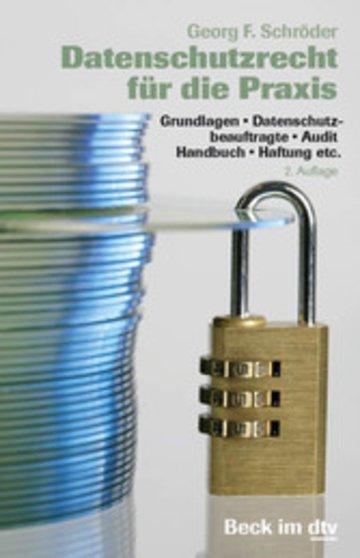 eBook Datenschutzrecht für die Praxis Cover
