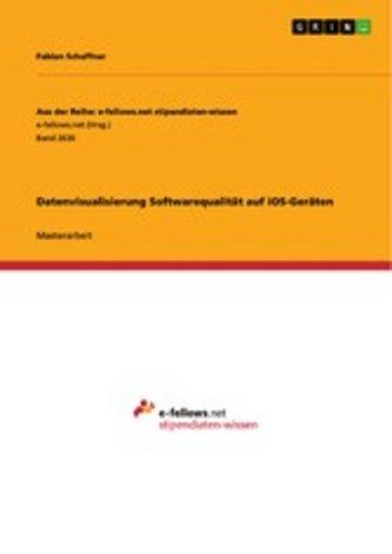 eBook Datenvisualisierung Softwarequalität auf iOS-Geräten Cover