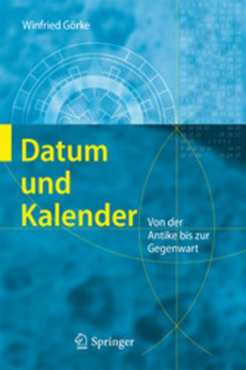 eBook Datum und Kalender Cover