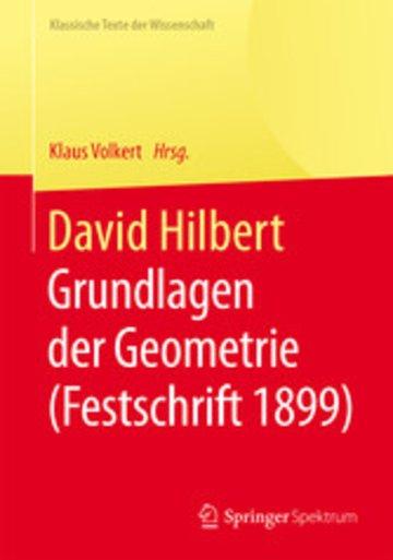 eBook David Hilbert Cover