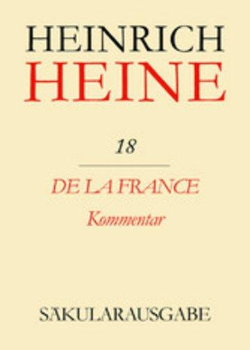 eBook De la France. Kommentar Cover