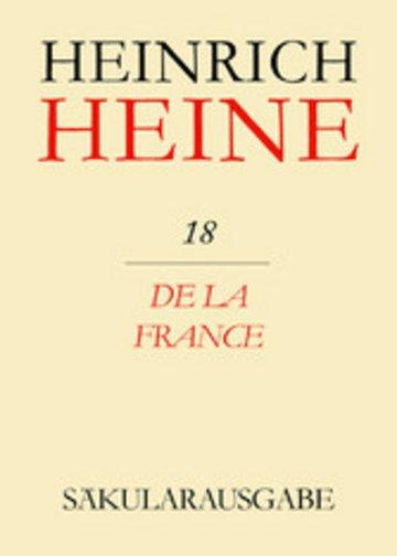 eBook De la France Cover