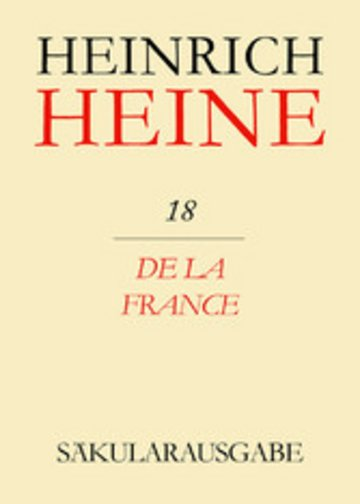 eBook De la France Cover