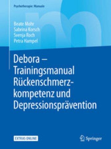 eBook Debora - Trainingsmanual Rückenschmerzkompetenz und Depressionsprävention Cover