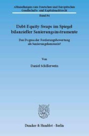 eBook Debt-Equity-Swaps im Spiegel bilanzieller Sanierungsinstrumente. Cover
