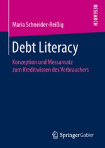 eBook Debt Literacy Cover