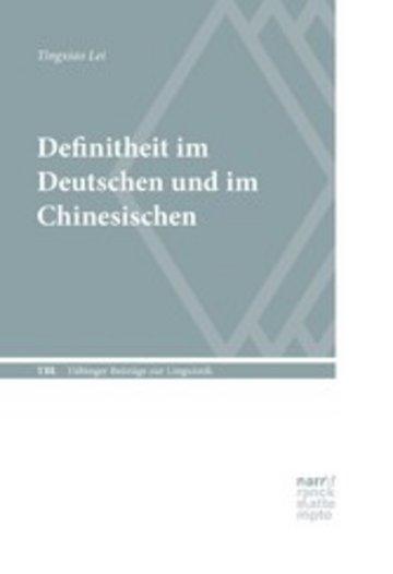 eBook Definitheit im Deutschen und im Chinesischen Cover