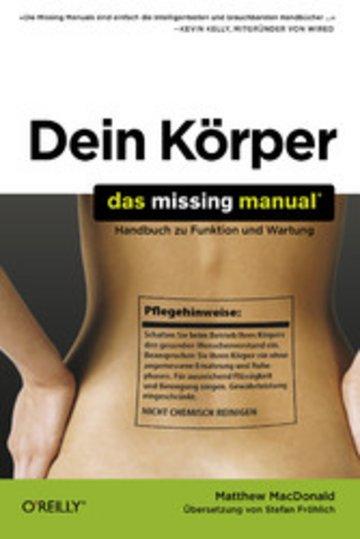 eBook Dein Körper: Das Missing Manual Cover
