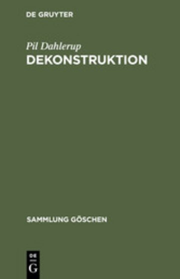 eBook Dekonstruktion Cover