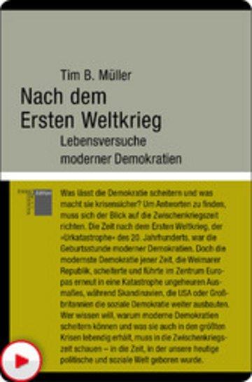 eBook Nach dem Ersten Weltkrieg Cover