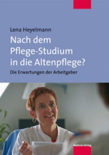 eBook Nach dem Pflege-Studium in die Altenpflege? Cover