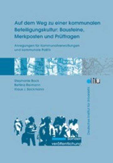eBook Auf dem Weg zu einer kommunalen Beteiligungskultur: Bausteine, Merkposten und Prüffragen Cover