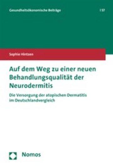 eBook Auf dem Weg zu einer neuen Behandlungsqualität der Neurodermitis Cover
