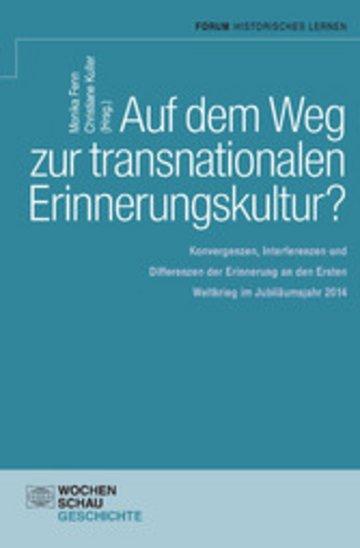 eBook Auf dem Weg zu einer transnationalen Erinnerungskultur? Cover