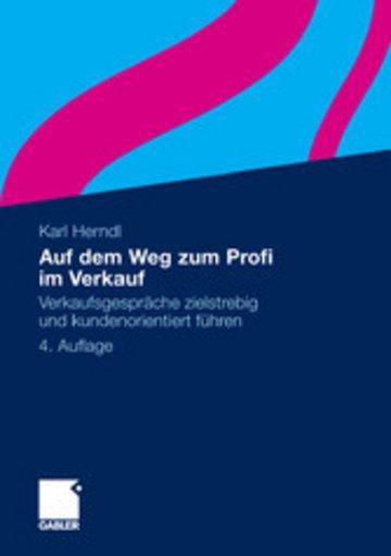 eBook Auf dem Weg zum Profi im Verkauf Cover