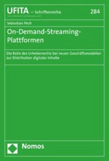 eBook On-Demand-Streaming-Plattformen Cover