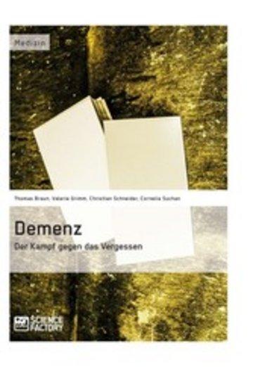 eBook Demenz - Der Kampf gegen das Vergessen Cover