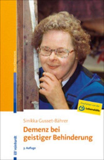 eBook Demenz bei geistiger Behinderung Cover
