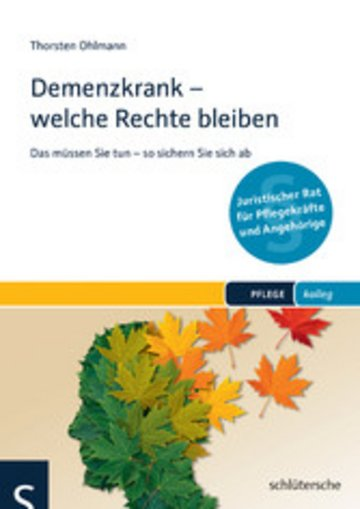 eBook Demenzkrank - welche Rechte bleiben Cover