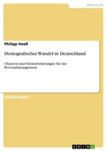 eBook Demografischer Wandel in Deutschland Cover