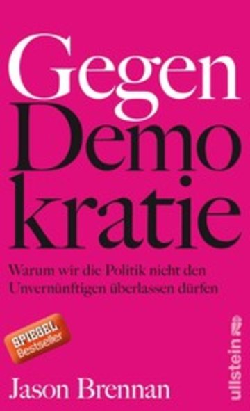 eBook Gegen Demokratie Cover