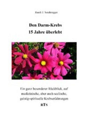 eBook Den Darmkrebs 15 Jahre überlebt Cover