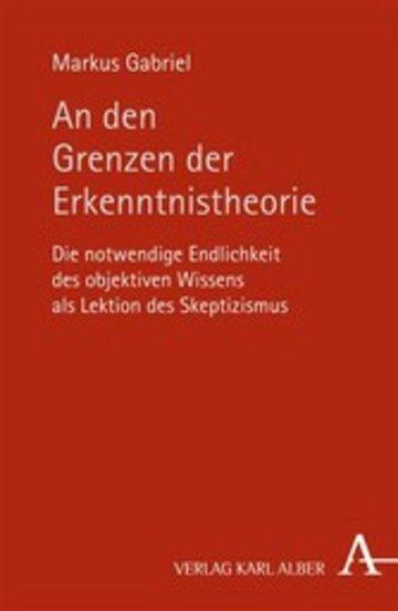 eBook An den Grenzen der Erkenntnistheorie Cover