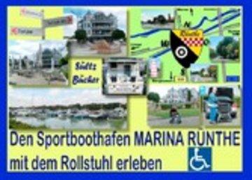eBook Den Sportboothafen Marina Rünthe mit dem Rollstuhl erleben Cover