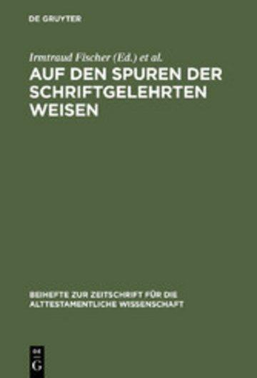 eBook Auf den Spuren der schriftgelehrten Weisen Cover