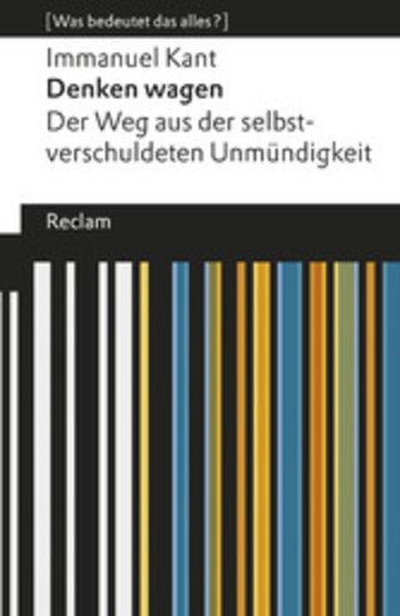 eBook Denken wagen Cover