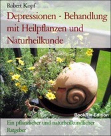 eBook Depressionen - Behandlung mit Heilpflanzen und Naturheilkunde Cover