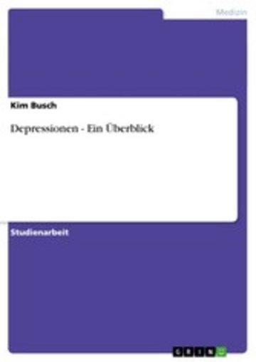 eBook Depressionen - Ein Überblick Cover