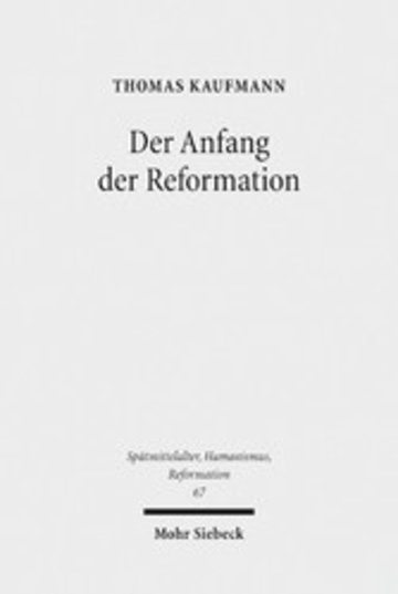 eBook Der Anfang der Reformation Cover