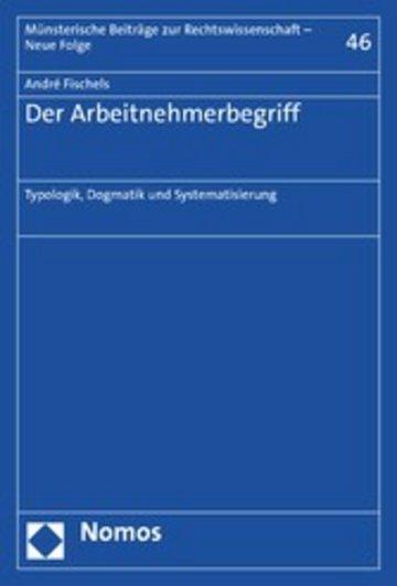 eBook Der Arbeitnehmerbegriff Cover