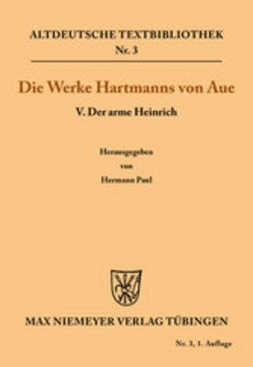 eBook Der arme Heinrich Cover