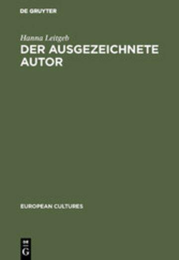 eBook Der ausgezeichnete Autor Cover