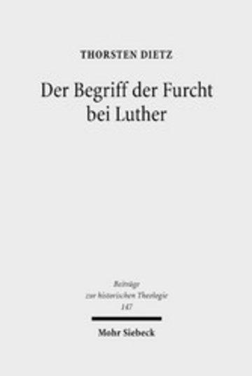 eBook Der Begriff der Furcht bei Luther Cover