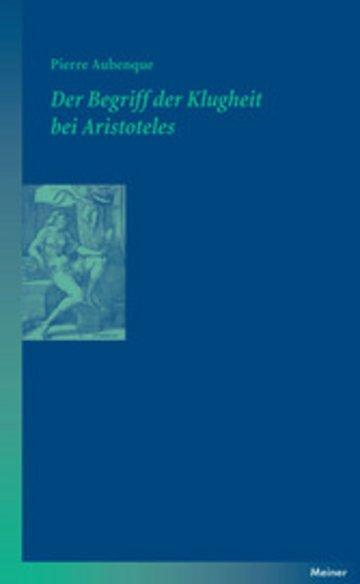 eBook Der Begriff der Klugheit bei Aristoteles Cover