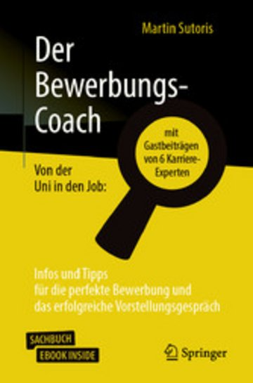 eBook Der Bewerbungs-Coach Cover