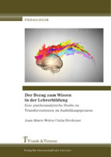 eBook Der Bezug zum Wissen in der Lehrerbildung Cover