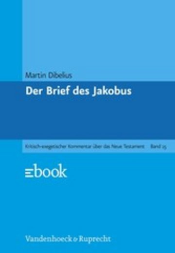 eBook Der Brief des Jakobus Cover