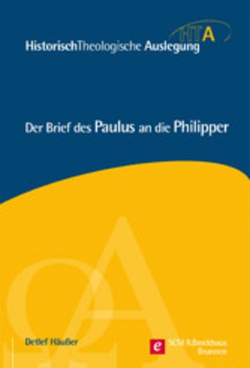 eBook Der Brief des Paulus an die Philipper Cover